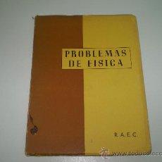 Libros de segunda mano de Ciencias: PROBLEMAS DE FISICA.. Lote 24765936