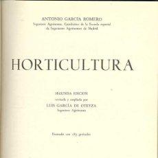 Libros de segunda mano: 1959: HORTICULTURA. Lote 26458486
