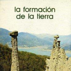 Libros de segunda mano: LA FORMACION DE LA TIERRA - SALVAT. Lote 27453391