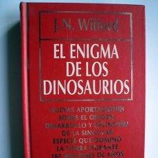 Libros de segunda mano: LIBRO EL ENIGMA DE LOS DINOSAURIOS. Lote 18119716