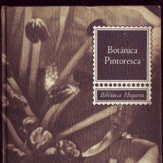 Libros de segunda mano: BOTÁNICA PINTORESCA. FONT QUER. . Lote 26036863