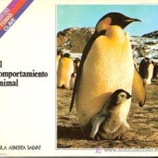 Libros de segunda mano: EL COMPORTAMIENTO ANIMAL. EDUARDO CRUELLS MONLLOR. COLECCION SALVAT. TEMAS CLAVE. Nº 41.. Lote 27277433