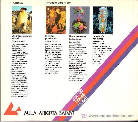 Libros de segunda mano: El comportamiento animal. Eduardo Cruells Monllor. Coleccion Salvat. Temas Clave. nº 41. - Foto 2 - 27277433