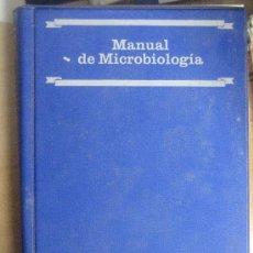 Libros de segunda mano: MANUAL DE MICROBIOLOGIA. MERCK. TRADUCCION DE ANTONIO NUÑEZ CACHAZA. Lote 27573980