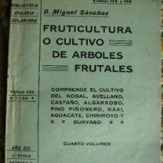 Libros de segunda mano - cultivo de arboles frutales 1923 200pgs - 27280976