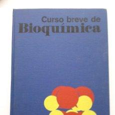 Libros de segunda mano de Ciencias: CURSO BREVE DE BIOQUIMICA - ALBERT L. LEHNINGER - EDICIONES OMEGA. Lote 27577032