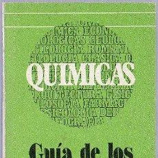 Libros de segunda mano de Ciencias: QUIMICAS. GUIA DE LOS ESTUDIOS UNIVERSITARIOS. EUNSA. CONSUELO MARTIN.1977. 18 X 11 CM.. Lote 21491328