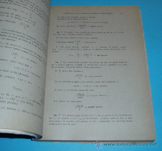 Libros de segunda mano de Ciencias: COLECCIÓN DE PROBLEMAS DE ARITMÉTICA, GEOMETRÍA, ALGEBRA Y FÍSICA ELEMENTAL. V.F. ASCARZA. E. SOLANA - Foto 2 - 22375000