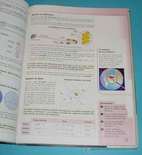 Libros de segunda mano de Ciencias: FÍSICA Y QUÍMICA. PROYECTO ECOSFERA. 3º SECUNDARIA. ANA CAÑAS. MERCEDES FERNÁNDEZ. J. SORIANO - Foto 2 - 24034283