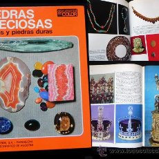 Libros de segunda mano: LIBRO PIEDRAS PRECIOSAS GEMAS DURAS GEMOLOGÍA MINERALES GEOLOGÍA CIENCIAS FOTOGRAFÍA JOYAS TEIDE. Lote 26339464