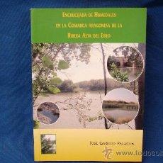 Libros de segunda mano: ENCRUCIJADA DE HUMEDALES EN LA COMARCA ARAGONESA DE LA RIBERA ALTA DEL EBRO - JOSÉ GARRIDO - NUEVO. Lote 213321816