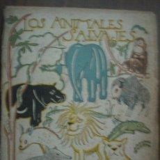 Libros de segunda mano: LOS ANIMALES SALVAJES. CABRERA, ÁNGEL. 1953. ESPASA-CALPE. Lote 23731530