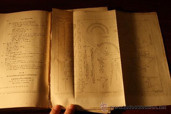 Libros de segunda mano: 0126- GEODESIE, septiéme edition, Gaulthier-Villiars, 1886, Paris, Francoeur - Foto 3 - 24590578