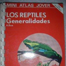 Libros de segunda mano: MINI ATLAS JOVER - LOS REPTILES GENERALIDADES - ENVIO GRATIS A ESPAÑA. Lote 24793402