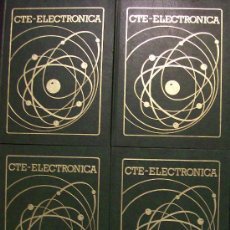 Libros de segunda mano de Ciencias: 4 TOMOS DE ELECTRONICA. Lote 26413092