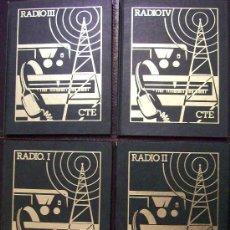 Libros de segunda mano de Ciencias: 4 TOMOS DE RADIO. Lote 26413096