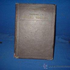 Libros de segunda mano de Ciencias: LIBRO ANTIGUO DE FISICA TEORICA DE 1943. Lote 26422022