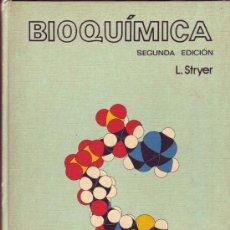 Libros de segunda mano de Ciencias: BIOQUIMICA. LUBERT STRYER.. Lote 25221259