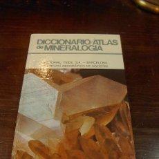 Libros de segunda mano: DICCIONARIO, ATLAS DE MINERALOGIA,ED. TEIDE, INSTITUTO GEOGRAFICO AGOSTINI, 1978. Lote 25761558