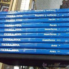 Libros de segunda mano: TIERRA VIVA ANIMALES DEL MUNDO / 10 TOMOS / ED. CULTURALES. Lote 25784548