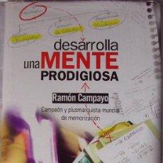 Libros de segunda mano de Ciencias: DESARROLLA UNA MENTE PRODIGIOSA. Lote 27526399