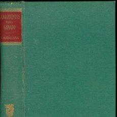 Libros de segunda mano: 1953: ALOJAMIENTOS PARA EL GANADO. Lote 26644537