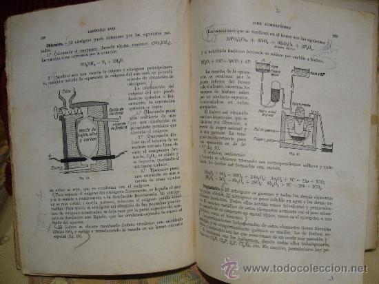 Libros de segunda mano de Ciencias: COMPENDIO DE QUIMICA GENERAL DE VICENTE ALEIXANDRE. 1.944. - Foto 4 - 28407080