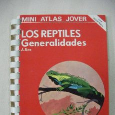 Libros de segunda mano: MINI ATLAS JOVER - LOS REPTILES GENERALIDADES - ENVIO GRATIS A ESPAÑA. Lote 37566390