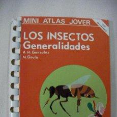 Libros de segunda mano: MINI ATLAS JOVER - LOS INSECTOS GENERALIDADES - ENVIO GRATIS A ESPAÑA. Lote 37566396