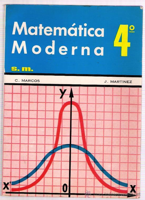 MATEMATICA MODERNA (Libros de Segunda Mano - Ciencias, Manuales y Oficios - Física, Química y Matemáticas)