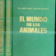 Libros de segunda mano: MARIO ARDIT / RACHEL KWARTAZ : EL MUNDO DE LOS ANIMALES - DOS TOMOS (RELATOS DE CAZA). Lote 28971870
