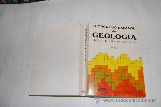 I CONGRESO ESPAÑOL DE GEOLOGÍA. SEGOVIA, DEL 9 AL 14 DE ABRIL DE 1984. TOMO I. VV.AA. RM55206 (Libros de Segunda Mano - Ciencias, Manuales y Oficios - Paleontología y Geología)