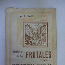 Livros em segunda mão: CULTIVO DE FRUTALES (1948). Lote 29543710