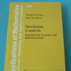 Libros de segunda mano de Ciencias: STOCHASTIC CONTROLS. HAMILTONIAN SYSTEMS AND HJB EQUATIONS. JIONGMIN YONG Y XUN YU ZHOU. Lote 29746554