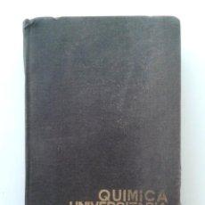 Libros de segunda mano de Ciencias: QUIMICA UNIVERSITARIA BASICA - RAFAEL USON LACAL - EDITORIAL ALHAMBRA - 1971. Lote 29953062