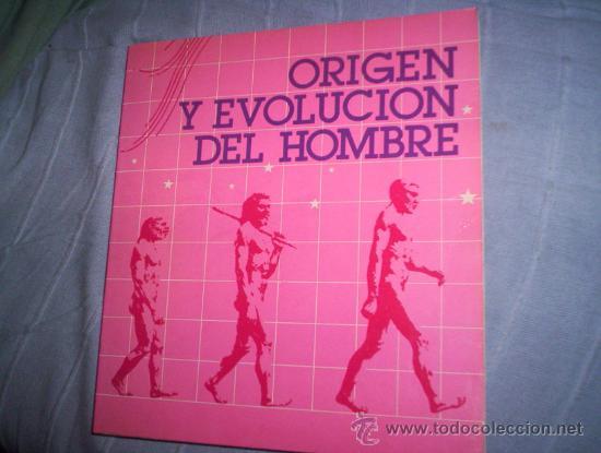 ORIGEN Y EVOLUCION DEL HOMBRE. (Libros de Segunda Mano - Ciencias, Manuales y Oficios - Paleontología y Geología)
