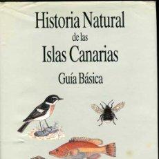 Libros de segunda mano: HISTORIA NATURAL DE LAS ISLAS CANARIAS. Lote 30248585