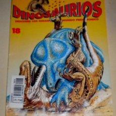 Libros de segunda mano: FASCÍCULO - DINOSAURIOS - DESCUBRE LOS GIGANTES DEL MUNDO PREHISTORICO Nº 18 ( PLANETA AGOSTINI ). Lote 30596955