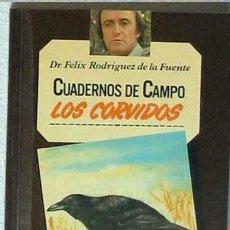 Libros de segunda mano: LOS CÓRVIDOS - CUADERNOS DE CAMPO - Nº 17 - FÉLIX RODRÍGUEZ DE LA FUENTE. Lote 47894515