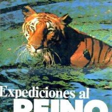 Libros de segunda mano: HEINZ SIELMANN : EXPEDICIONES AL REINO ANIMAL (GROLIER, 1981) GRAN FORMATO. Lote 30791443
