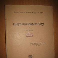Libros de segunda mano: GÉOLOGÍE DU CENOZOÏQUE DU PORTUGAL - PAUL CHOFFAT. Lote 31423135