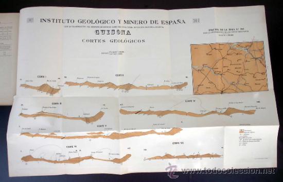 Libros de segunda mano: MAPA GEOLOGICO DE ESPAÑA. GUISONA. (LERIDA Y BARCELONA) MADRID. TIP. LIT. COULLAUT, 1950. - Foto 5 - 31768440