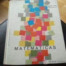 Libros de segunda mano de Ciencias: MATEMATICAS PRIMER CURSO DE BACHILLERATO. PLAN 1957. 1967.. Lote 31926275