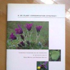 Libros de segunda mano: A UK PLANT CONSERVATION STRATEGY – MARGARET PALMER (1995) - BOTÁNICA. Lote 31976724