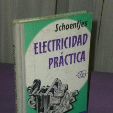 Libros de segunda mano de Ciencias: COMPENDIO DE ELECTRICIDAD PRÁCTICA.. Lote 32036191