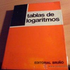 Libros de segunda mano de Ciencias: TABLAS DE LOGARITMOS. (LE4). Lote 32340141