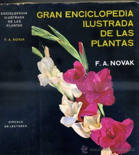 NOVAK : GRAN ENCICLOPEDIA ILUSTRADA DE LAS PLANTAS (CÍRCULO DE LECTORES, 1972) (Libros de Segunda Mano - Ciencias, Manuales y Oficios - Biología y Botánica)