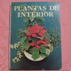 Libros de segunda mano: PLANTAS DE INTERIOR. Lote 32515215