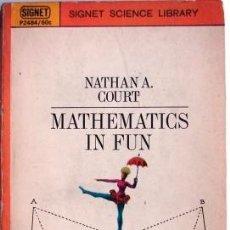 Libros de segunda mano de Ciencias: MATHEMATICS IS FUN AND IN EARNEST. Lote 32612166