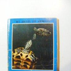 Libros de segunda mano: LAS TORTUGAS TERRESTRES Y ACUÁTICAS ENRIQUE DAUNER DE VECCHI 1973. Lote 32993207